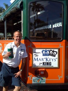 The Trolley's own Mark Patterson is running for King of Fantasy Fest