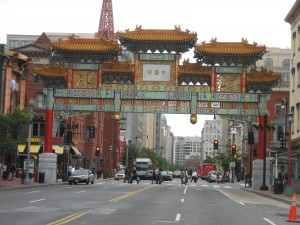 The Chinatown Arch is the gateway to Chinatown.