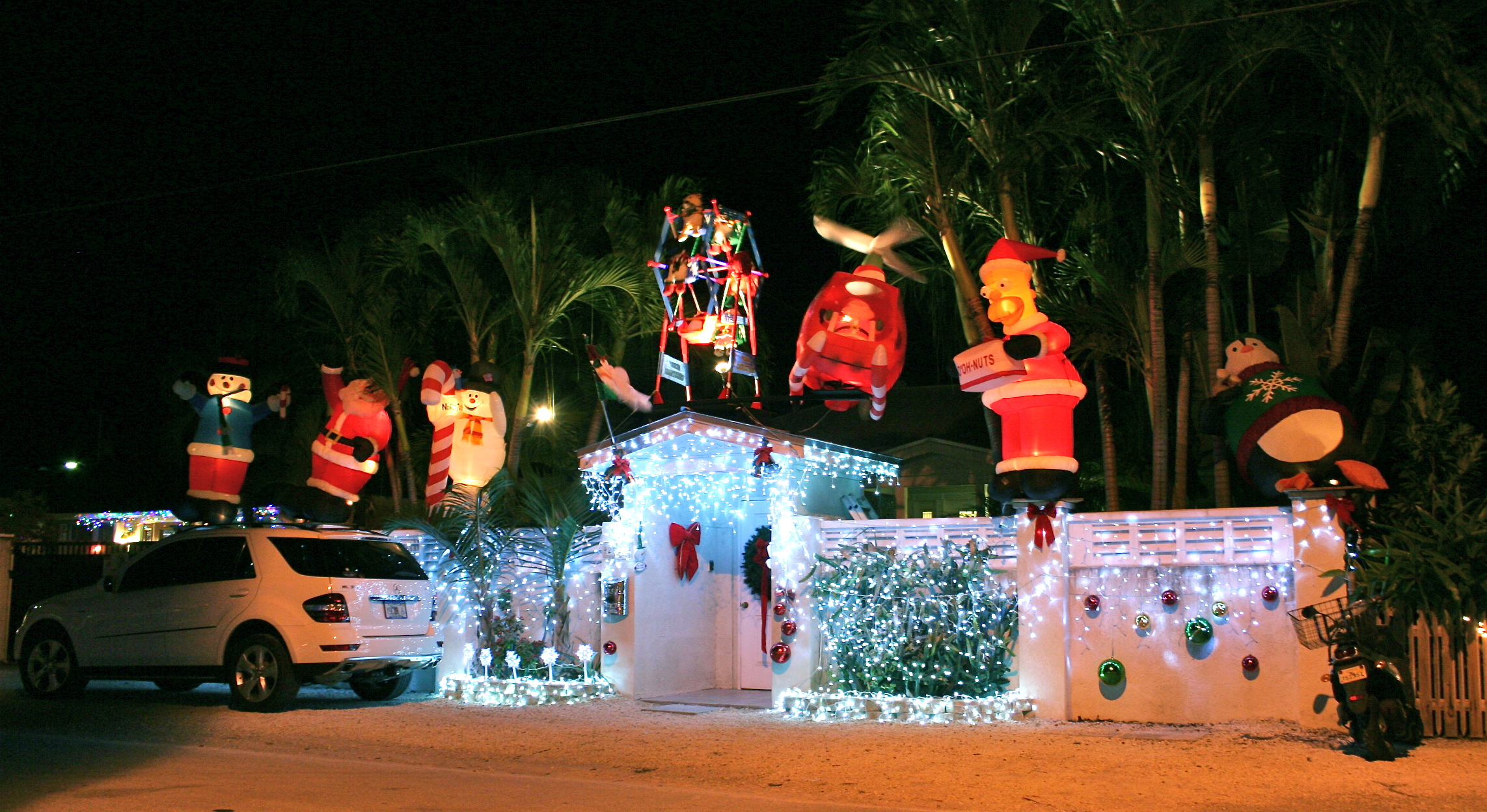 Key West Holiday Light Winners | Key West Attractions | Old Town ...
