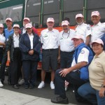 Old Town Trolley Tours of San Diego wearing pink for Breast Cancer Awareness Month