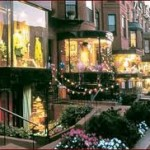 Boston's Newbury Street!