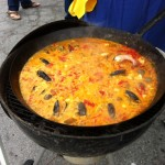 Delicious seafood paella at 2013 Key West Food And Wine Festival