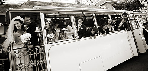 San Diego Wedding Trolley