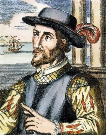 The Spanish explorer Juan Ponce de Leon