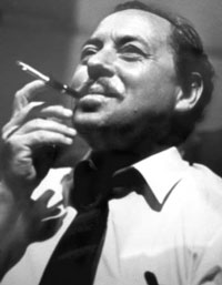A very iconic picture of Tennessee Williams.