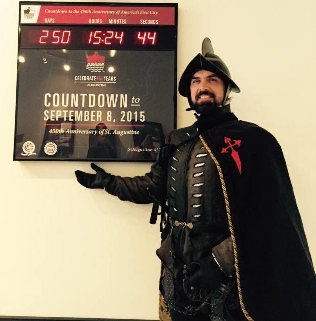 450th Countdown Clock  Pedro